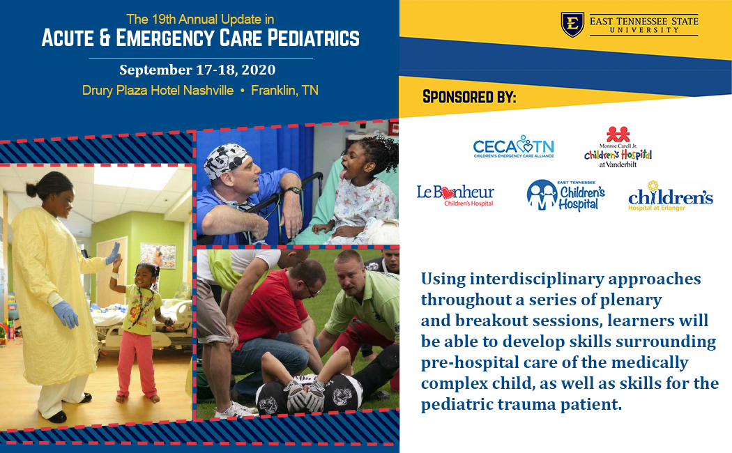 decorative image for 19th Annual Pediatric Emergency Medicine Conference