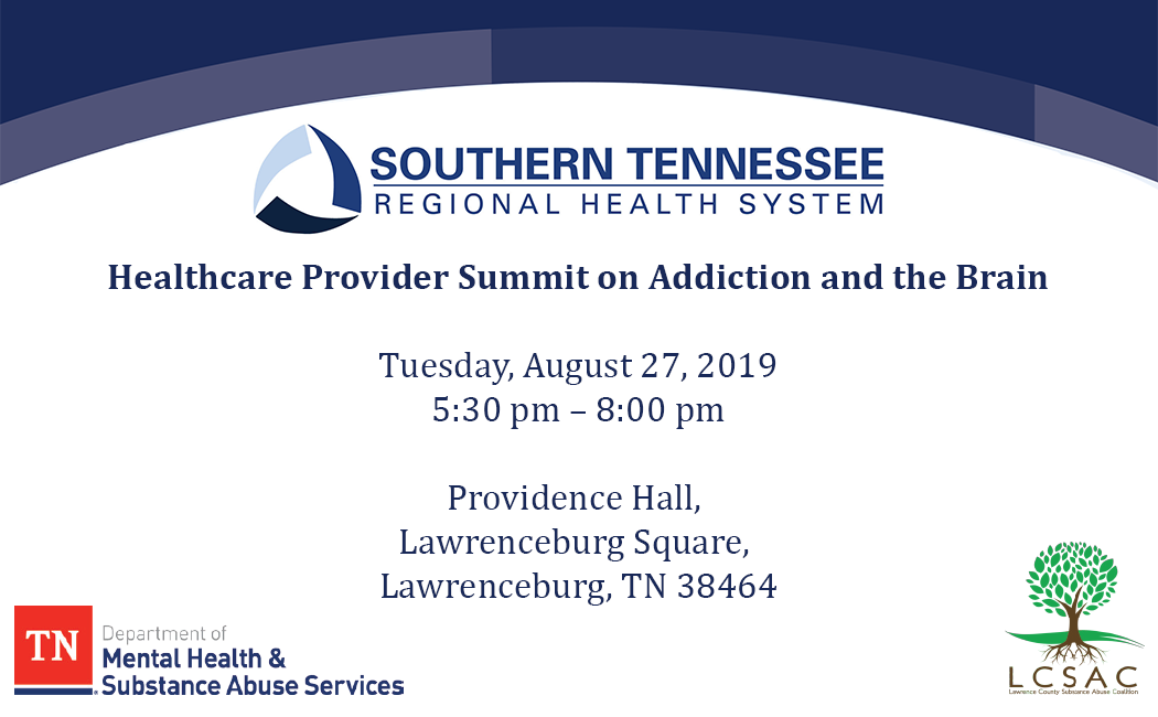 Healthcare Provider Summit on Addiction and the Brain Banner