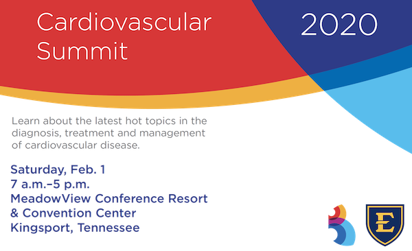 decorative image for Ballad Health Cardiovascular Summit 2020