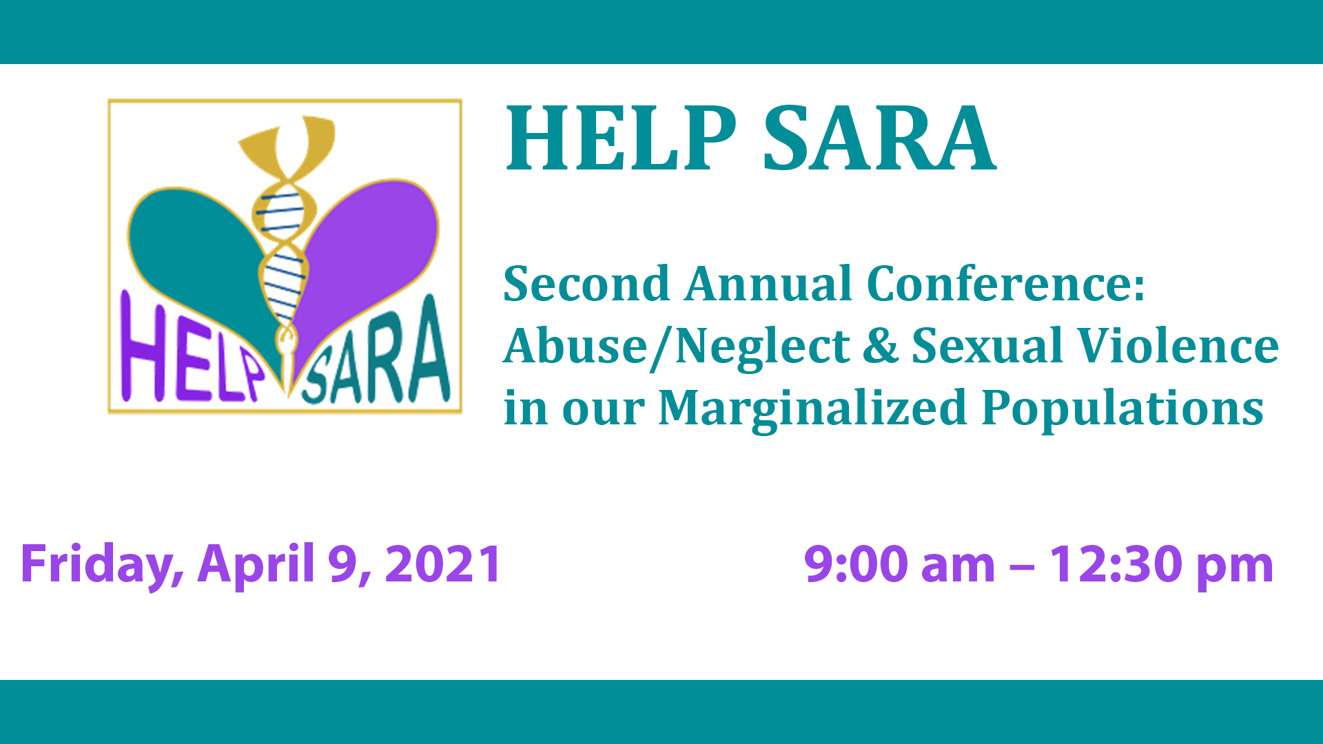 image for HELP SARA Second Annual Conference