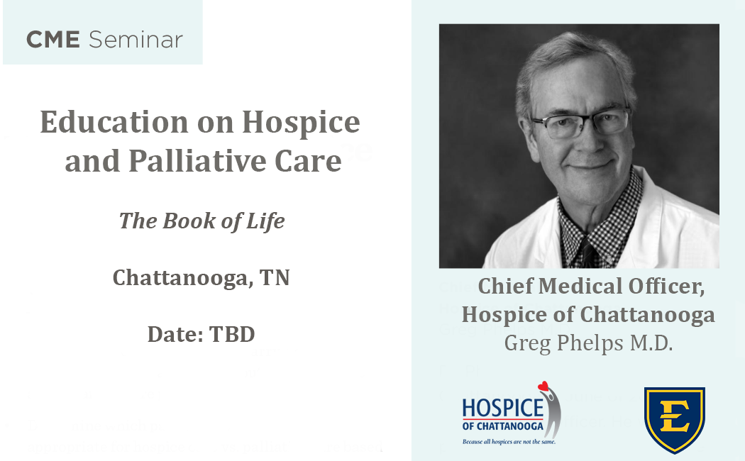 Education on Hospice and Palliative Care The Book of Life