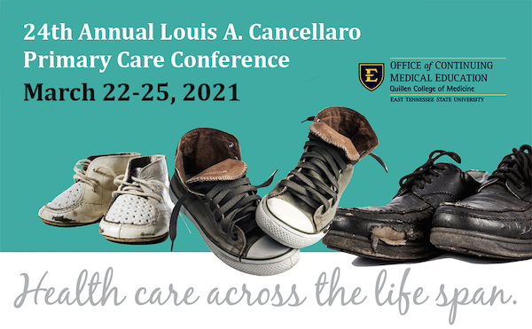 decorative image for 24th Annual Louis A. Cancellaro Primary Care Conference