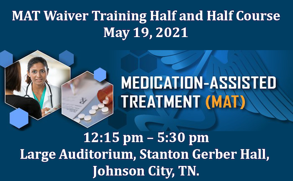 image for MAT Waiver Training Half and Half Course