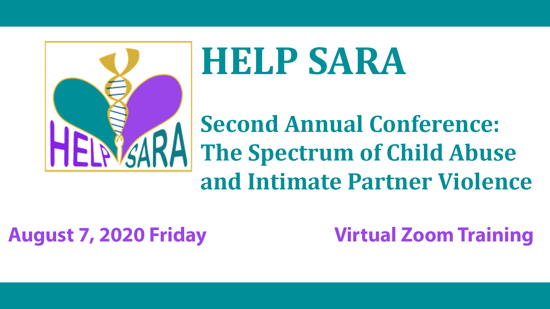 decorative image for HELP SARA Second Annual Conference