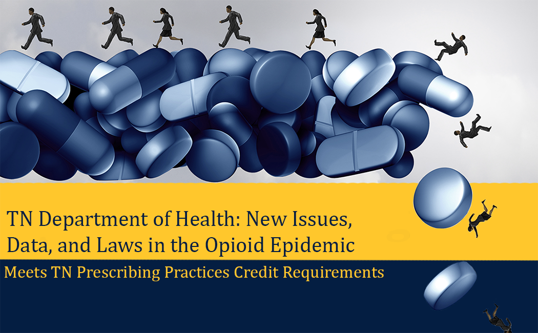 decorative image for New Issues, Data, and Laws in the Opioid Epidemic