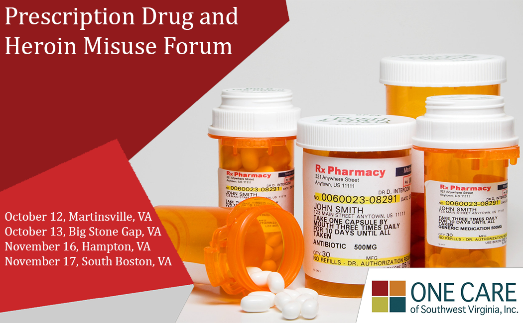 decorative image for Prescription Drug and Heroin Misuse Forum