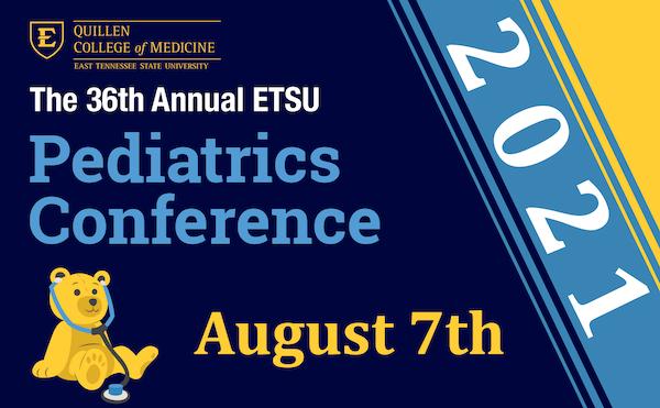 image for 36th Annual ETSU Pediatrics Conference