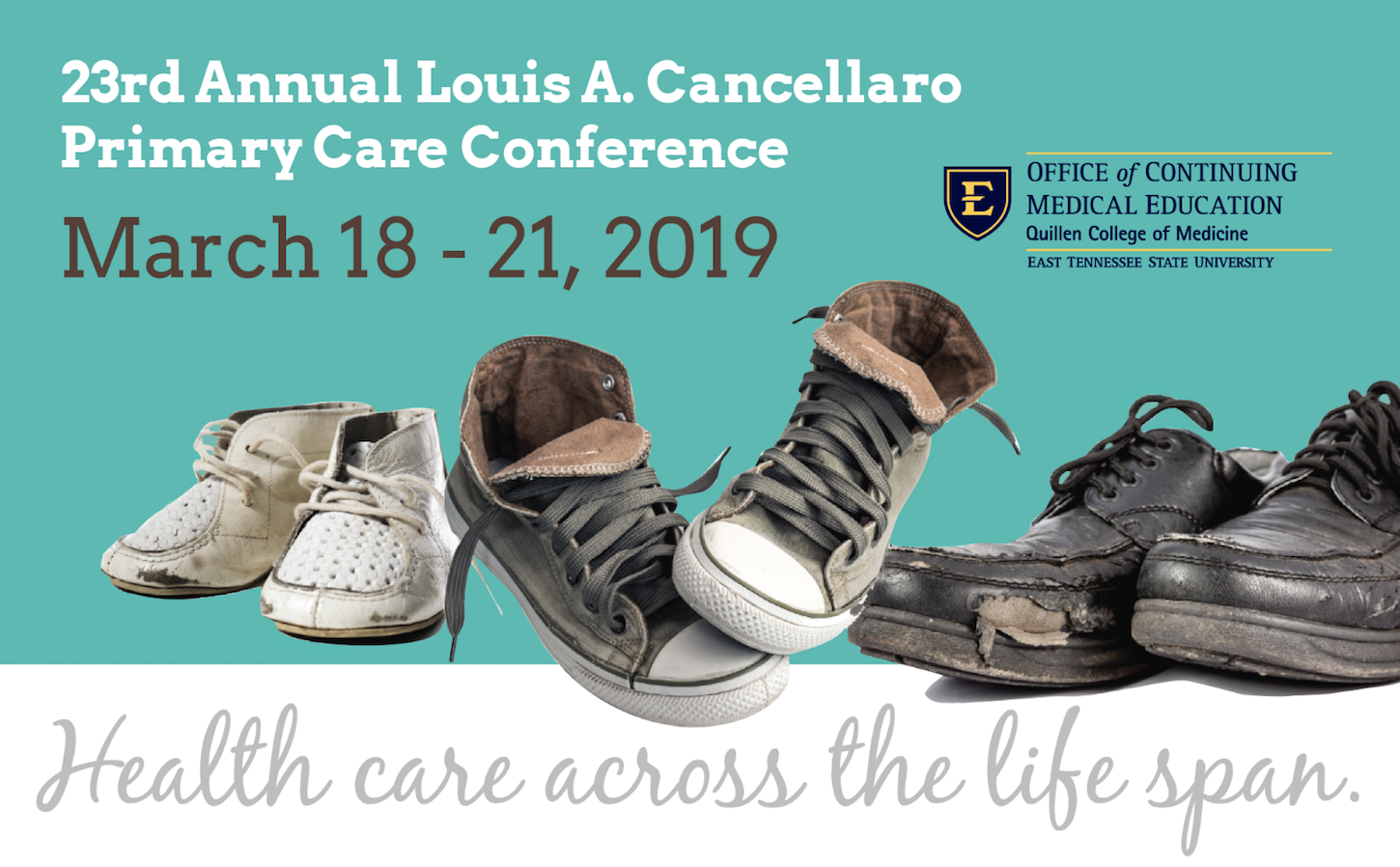 23rd Annual Louis A. Cancellaro Primary Care Conference Banner