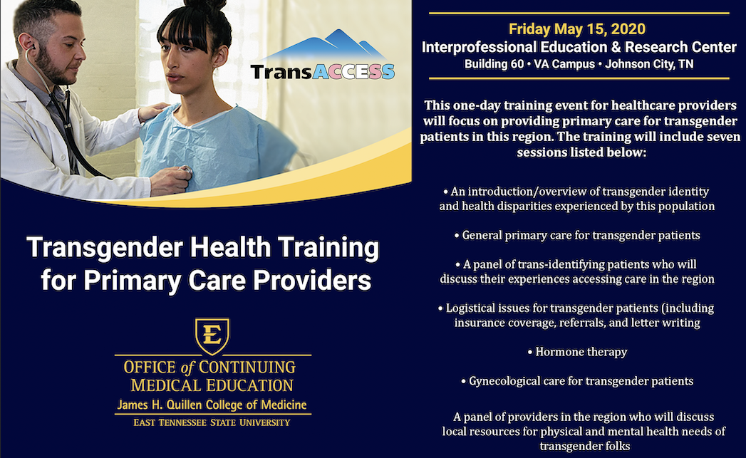 decorative image for TransACCESS: A Training on Transgender Primary Care