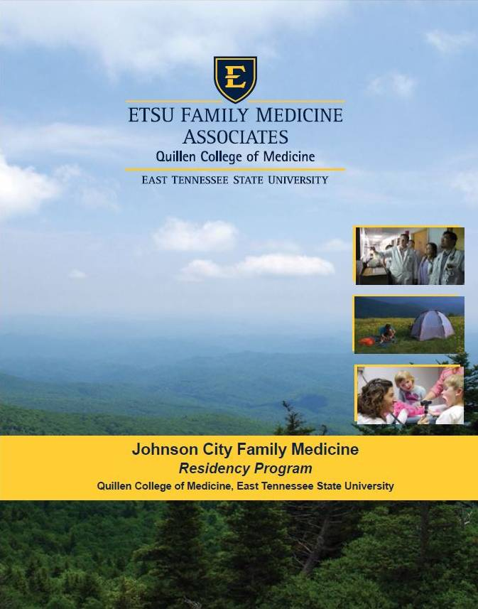 Johnson City Family Medicine Residency Brochure