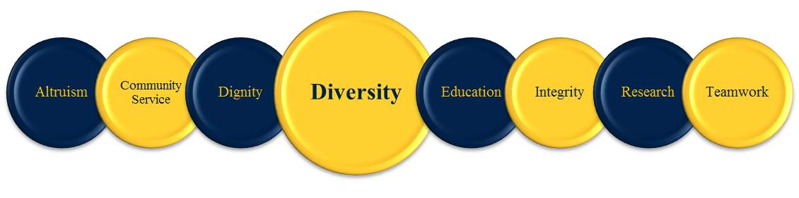 Core Values - Diversity