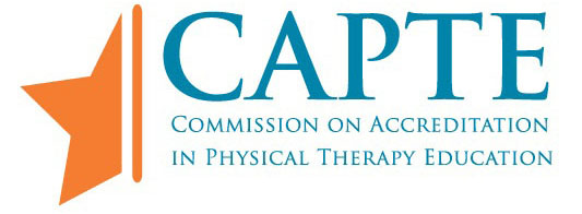 commision on accrediation in physical therapy education logo