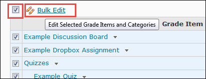 image of the bulk edit workflow in manage grades