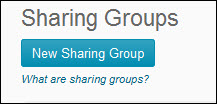 Image of the Blue New Sharing Group button.