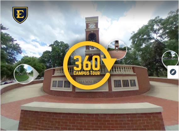 link to virtual campus tour