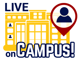 live on campus