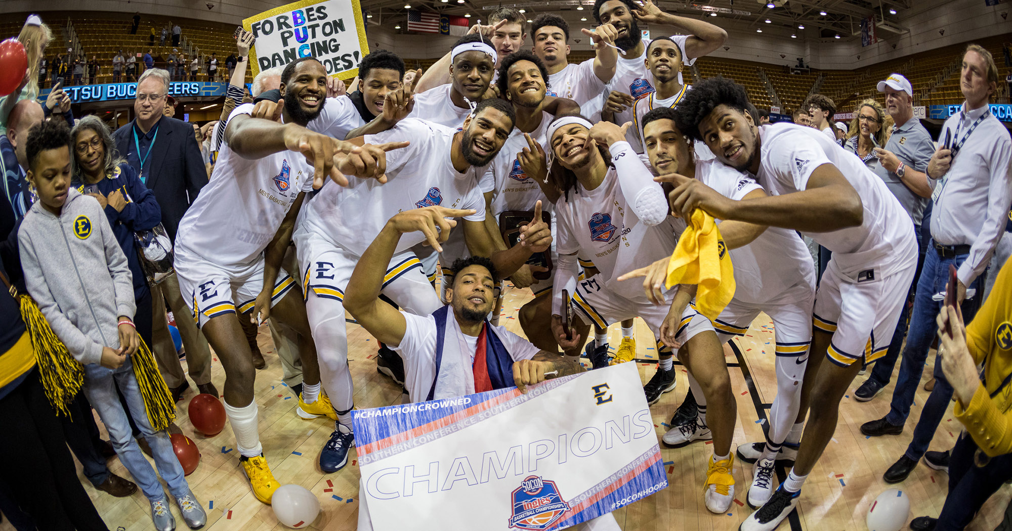 decorative image for ETSU punches ticket to Big Dance