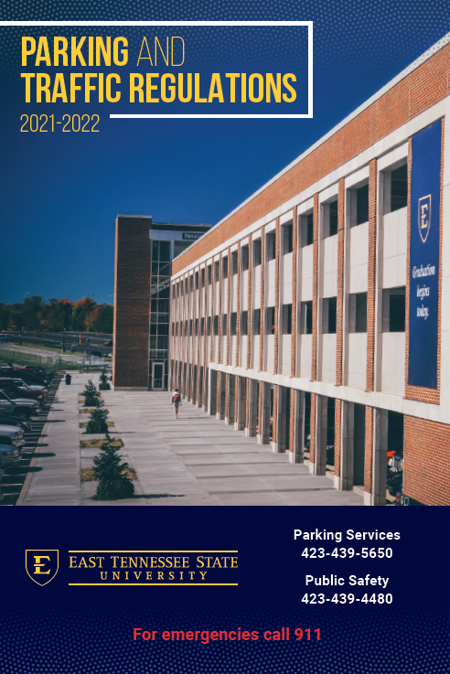 Parking Regulations Front Cover Art