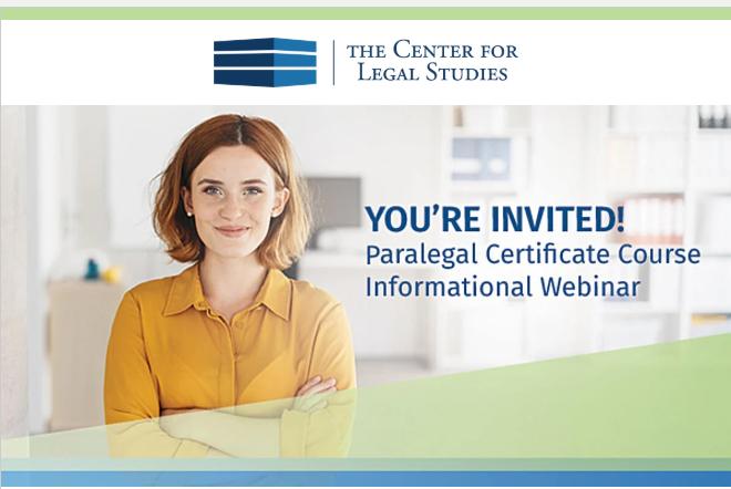 paralegal certificate programs