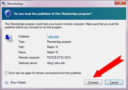 how to connect remote desktop through internet explorer