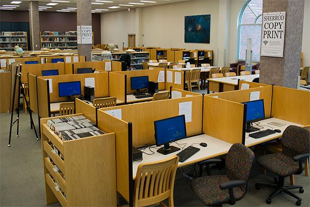 open computer labs its help desk