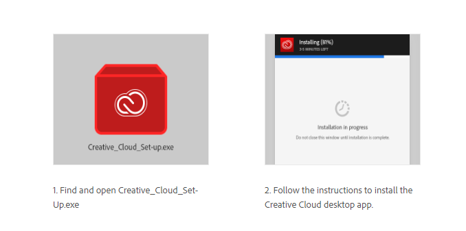 Adobe Creative Cloud - Set-Up | ITS Help Desk
