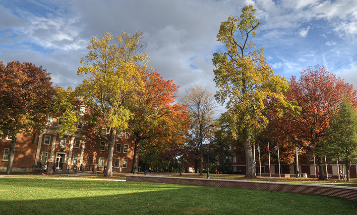 ETSU fall campus