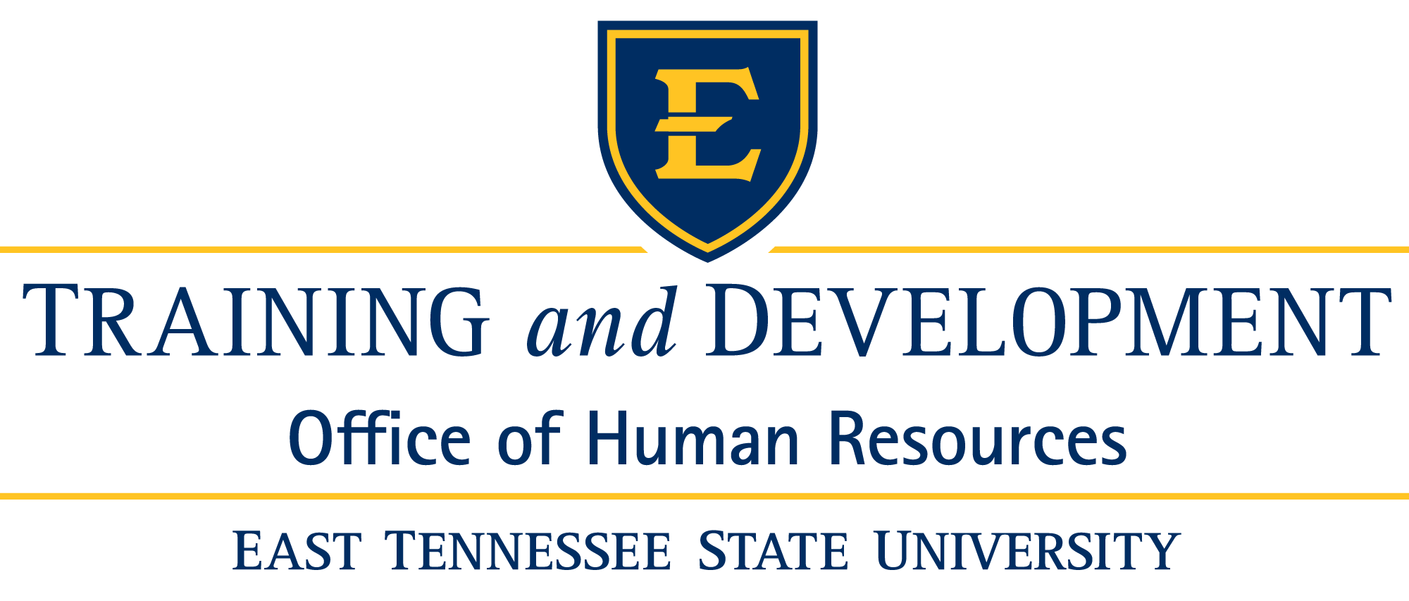 ETSU Human Resources Training and Development Logo