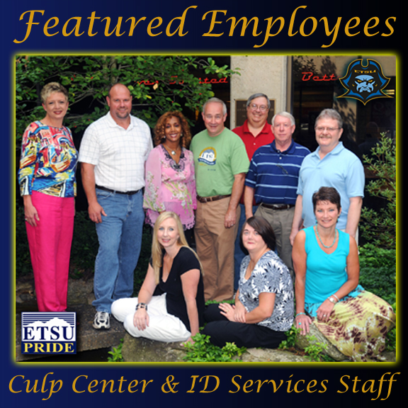 Photo of staff teams from the DP Culp University Center, and the Campus ID Services