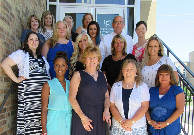 ETSU Family Physicians Kingsport Staff
