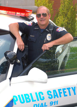 Photo Officer Jerry Hughes