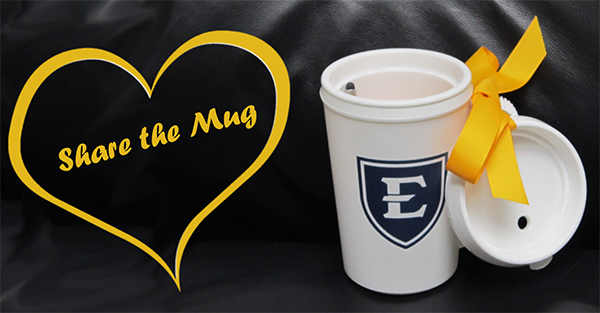 Photo of ETSU mug