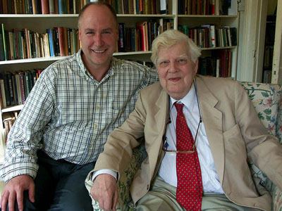 Dr. Richard Kortum and Sir Michael Dummett