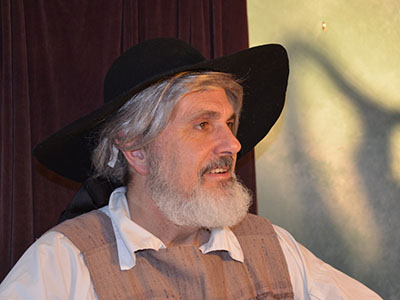Kirk Brown portrays the botanical life and times of the great American botanist John Bartram.