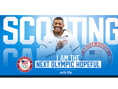"LaDarren Landrum is a ""Next Olympic Hopeful"" winner (Graphic image contributed)"