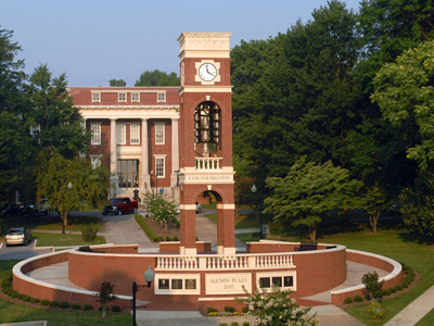 ETSU Foundation Carillon and Alumni Plaza