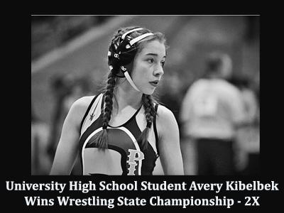 Avery Kibelbek Wins Wrestling State Championship