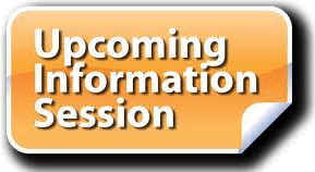 Upcoming Information Session