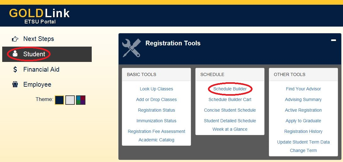 Student Page_Registration Tools=Red
