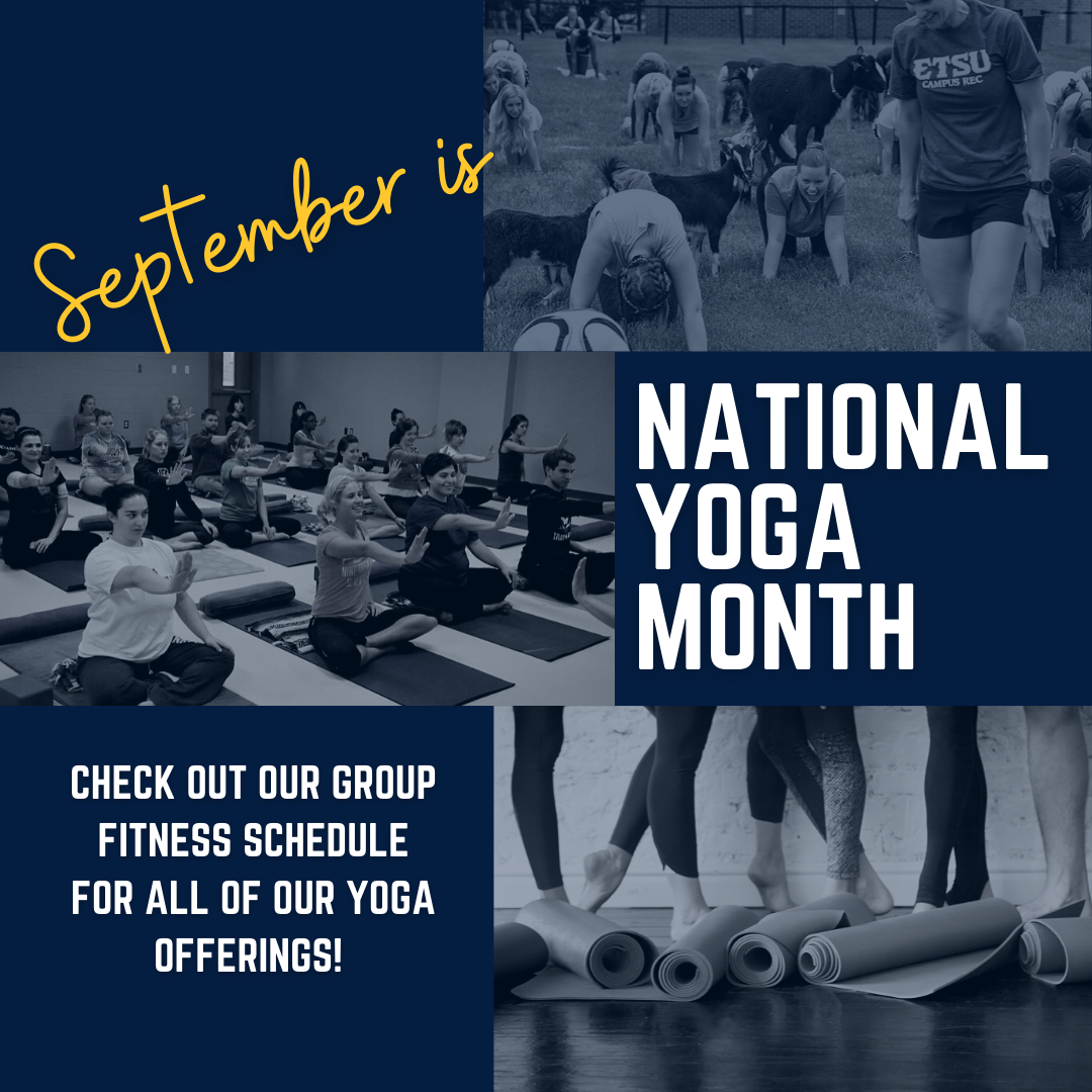 image for National Yoga Month
