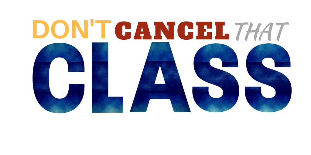 Don't Cancel That Class Logo