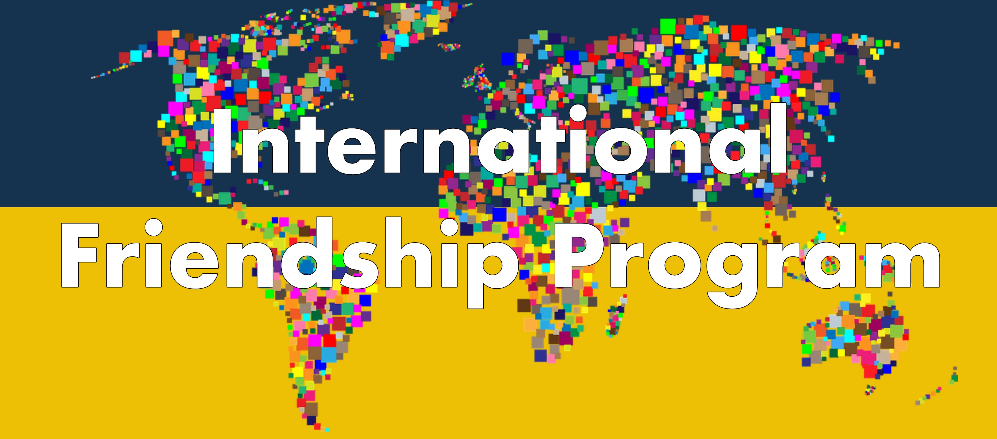 International Friendship Program Flyer