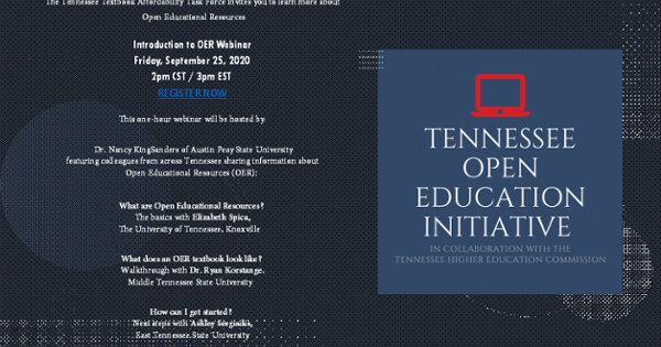 infographic of thec open ed session