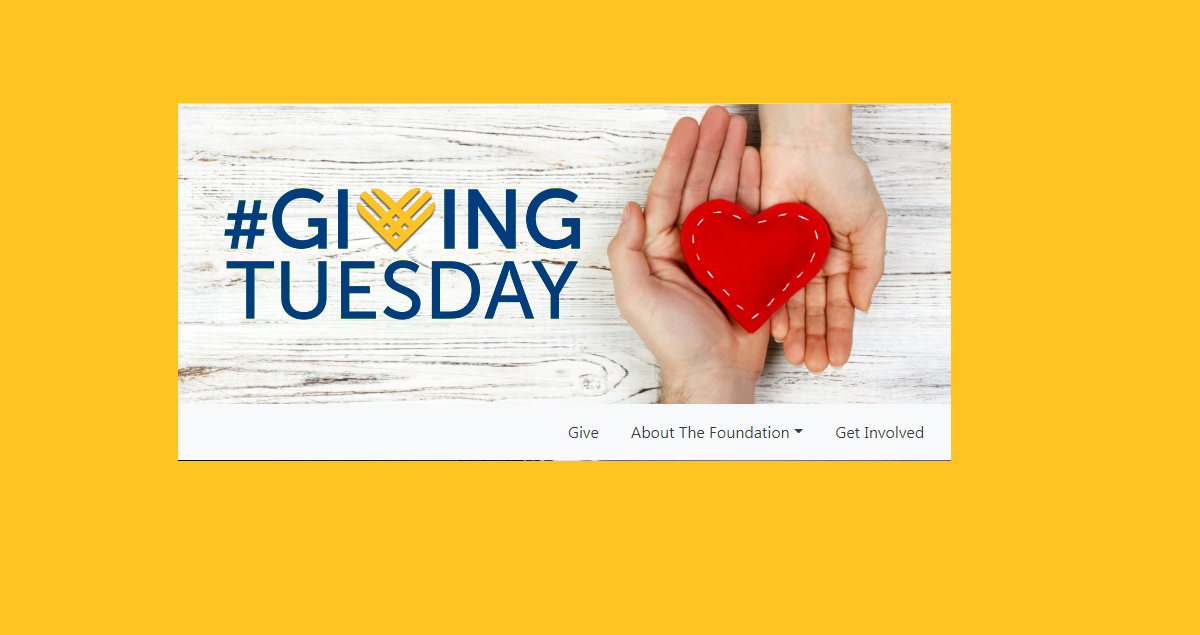 Giving Tuesday - Sponsored by University School Foundation
