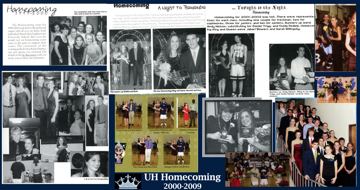 University School Homecoming - 2000-2009 Decade