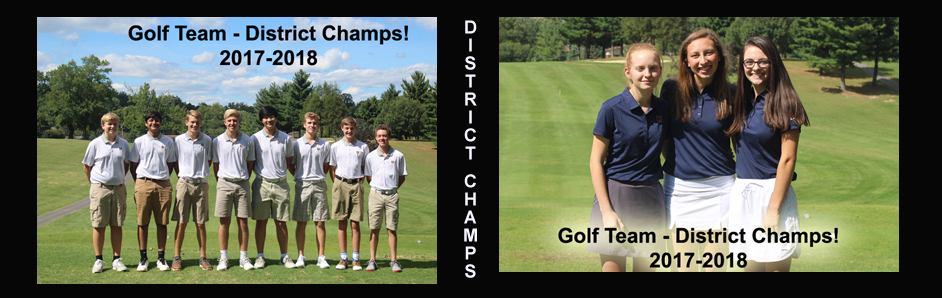 District Champs Golf