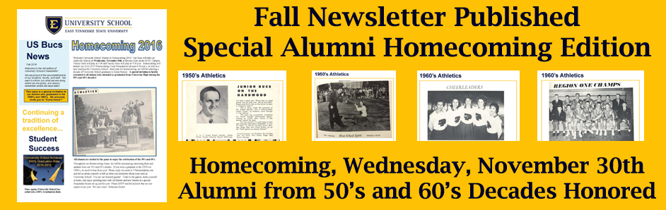 Alumni Homecoming Banner
