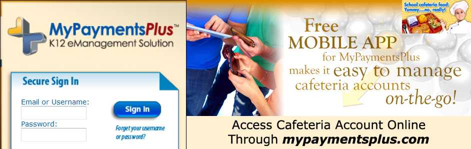 Cafeteria Online Payments